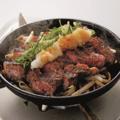 料理メニュー写真クォーターポンドステーキ(ロース)