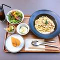 料理メニュー写真パスタランチ(サラダ・スープ・ドリンク付き)