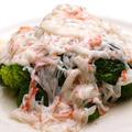料理メニュー写真ブロッコリーの蟹あんかけ