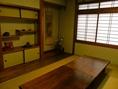 お座敷の個室です。家族での法事や祝い事などのご利用に重宝されています。