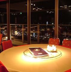 13Fから望む京の夜景をお愉しみいただけるお席です。普段の食事はもちろん、デートや大切な方との特別なお席に最適です。