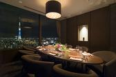 THE DINING シノワ唐紅花&鉄板フレンチ蒔絵の雰囲気3