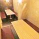 個室・半個室をメインに掘りごたつ、テーブル席完備!