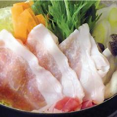 讃岐夢豚のセイロ蒸し/讃岐夢豚の塩すき焼き
