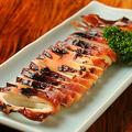 料理メニュー写真さば塩焼き・鮭ハラス焼き・いか丸・しまホッケ・子持ちししゃも