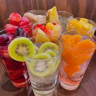 【見栄え・味良し★】6種類のフルーツサワー!