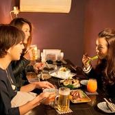 女子会などに大人気の個室です。