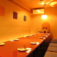 「和」を基調とした趣きある店内で宴会を◎最大16名様まで掘りごたつ席でゆったりお寛ぎながら自慢の料理をお楽しみください。