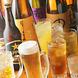 日本酒・焼酎からカクテルまで豊富な取り揃え!