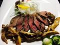 料理メニュー写真エゾ鹿肉のロースト