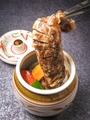 料理メニュー写真壺漬カルビ(甘たれ/辛たれ)