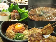 韓国食彩 オモニ 各務原店の写真