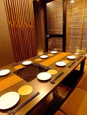 和情緒溢れる完全個室。一部屋限定なのでご予約はお早めに!