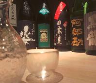 厳選られた日本酒・焼酎も多彩にご用意しております!