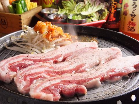 話題のUFOチキンフォンデュが新登場!宴会はこだわりの韓国料理で♪ご予約承ります!