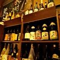 新潟の地酒や全国の有名な日本酒・焼酎も多数ご用意。