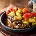 料理メニュー写真ふわとろバルおこ ~トマトとアボカドソース~