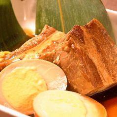 料理メニュー写真特製♪豚の角煮