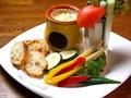 料理メニュー写真彩り野菜のチーズバーニャカウダ
