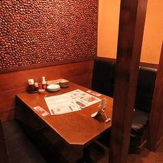 仙台駅から徒歩2分!少人数でご利用できる半個室席多数!