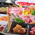 料理メニュー写真夏のスタミナ満点コース \2700