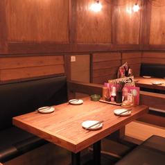 広々としたテーブル席が人気!