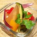 料理メニュー写真農園野菜のピクルス盛合せ