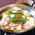 料理メニュー写真豚もつ鍋