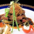 料理メニュー写真和牛ステーキ ~トリュフソースで~ - A Japanese steak (Truffle source)-