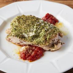 若鶏の香草焼き~トマトソース添え~