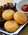 料理メニュー写真チーズポテト餅★
