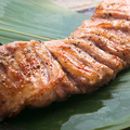 料理メニュー写真豚ハラミのまるごと炙り焼き