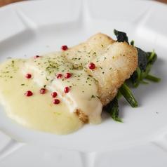 白身魚のムニエル~バターソースを添えて~