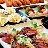 コース料理は毎週変わる。季節の最高の食材でおもてなし