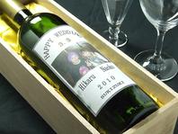 オリジナルラベルのボトルワイン