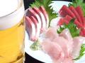 料理メニュー写真鮮魚のお刺身