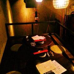 店内のプチ2階の席。上から店内が見渡せる不思議な景色をお楽しみ下さい☆