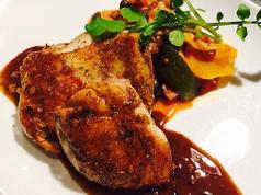 大山鶏のソティ ガーリックソース