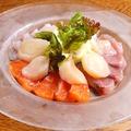 料理メニュー写真花咲ク彩りカルパッチョ