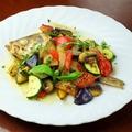 料理メニュー写真メバルの野菜の香草オーブン焼き
