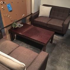 リニューアルしたソファーは座り心地が良くくつろげます。