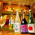 国産ワイン、リキュールなどお料理に合わせて選べるお酒を豊富にご用意しております。
