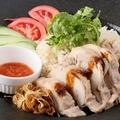 料理メニュー写真海南鶏飯~シンガポールチキンライス~