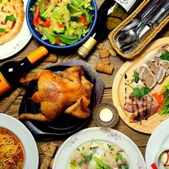 お肉キッチン 粟山バル ランタンの写真