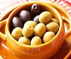スペイン産オリーブ盛り合わせ