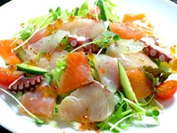 海鮮いろいろサラダ