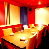【2F】最大13名様までのテーブル個室席です!