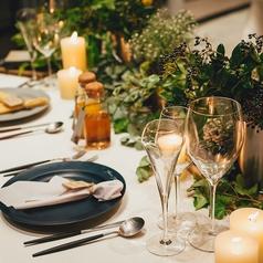 YOUR TABLE ユアテーブルのコース写真