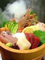 毎朝市場で仕入れる新鮮鮮魚をお手頃価格で!