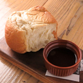 料理メニュー写真名物!自家製イギリスパン